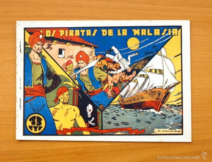 SELECCIÓN AVENTURERA - LOS PIRATAS DE LA MALASIA - EDITORIAL VALENCIANA 1940 (Tebeos y Comics - Valenciana - Selección Aventurera)