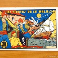 Tebeos: SELECCIÓN AVENTURERA - LOS PIRATAS DE LA MALASIA - EDITORIAL VALENCIANA 1940. Lote 56820032
