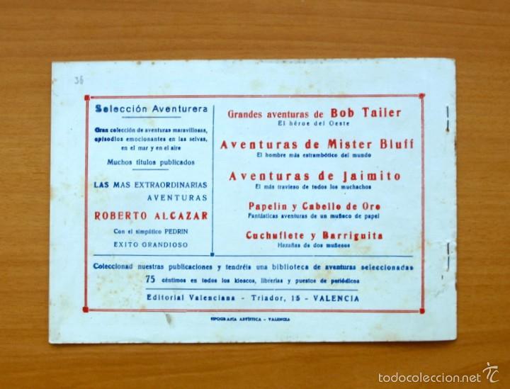 Tebeos: Selección aventurera - Los piratas de la Malasia - Editorial Valenciana 1940 - Foto 3 - 56820032