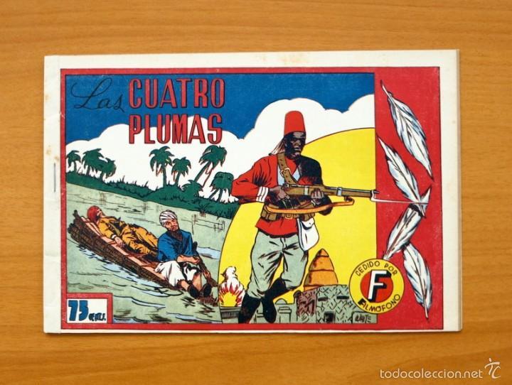 SELECCIÓN AVENTURERA - LAS CUATRO PLUMAS - EDITORIAL VALENCIANA 1940 (Tebeos y Comics - Valenciana - Selección Aventurera)