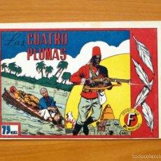 Tebeos: SELECCIÓN AVENTURERA - LAS CUATRO PLUMAS - EDITORIAL VALENCIANA 1940. Lote 56820083