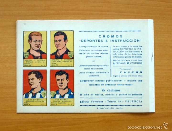 Tebeos: Selección aventurera - Bajo la cruz del sur - Editorial Valenciana 1940 - Foto 3 - 56820115