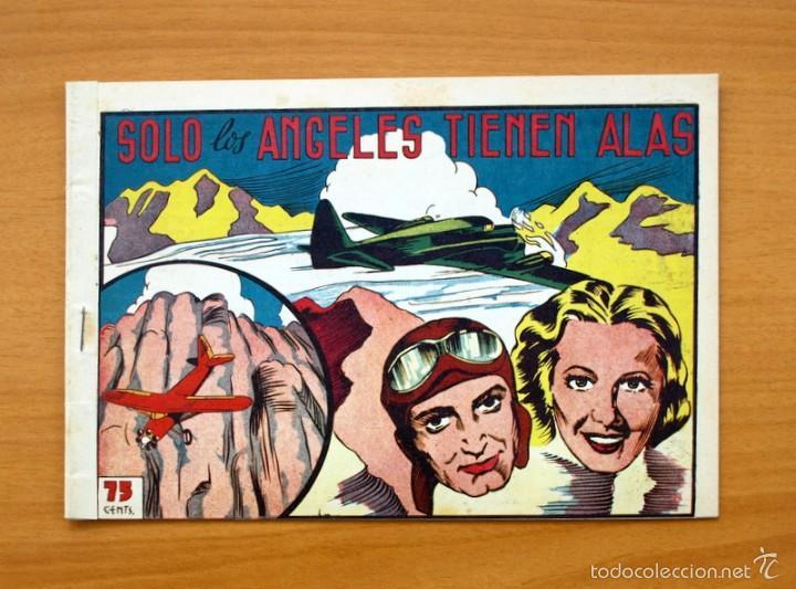SELECCIÓN AVENTURERA - SOLO LOS ÁNGELES TIENEN ALAS - EDITORIAL VALENCIANA 1940 (Tebeos y Comics - Valenciana - Selección Aventurera)