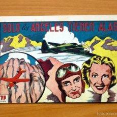 Tebeos: SELECCIÓN AVENTURERA - SOLO LOS ÁNGELES TIENEN ALAS - EDITORIAL VALENCIANA 1940. Lote 56820151