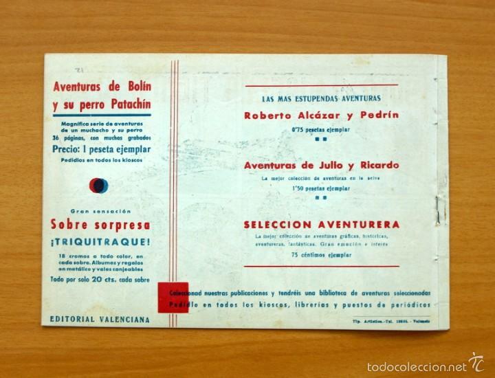 Tebeos: Selección aventurera - Solo los ángeles tienen alas - Editorial Valenciana 1940 - Foto 3 - 56820151