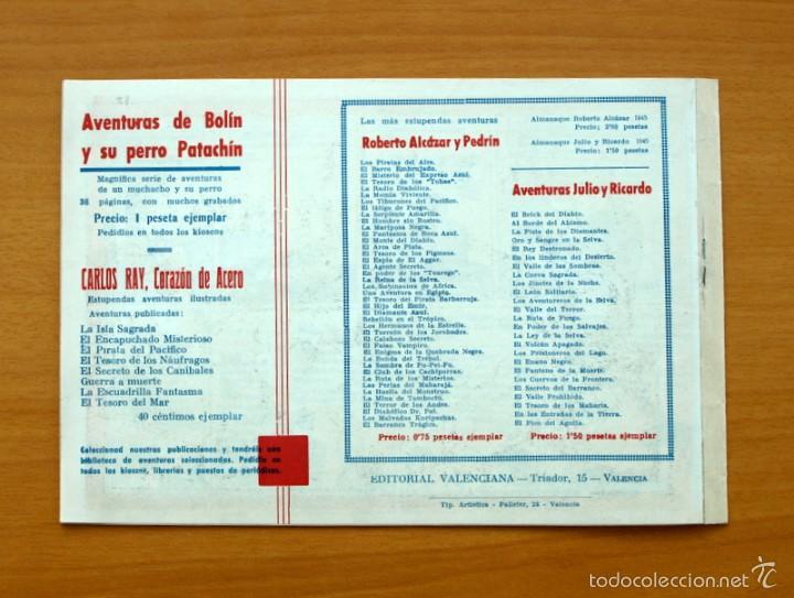 Tebeos: Selección aventurera - Pendenciero indeseable - Editorial Valenciana 1940 - Foto 3 - 56820183