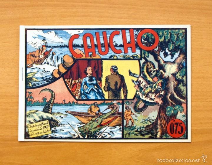 SELECCIÓN AVENTURERA - CAUCHO - EDITORIAL VALENCIANA 1940 (Tebeos y Comics - Valenciana - Selección Aventurera)