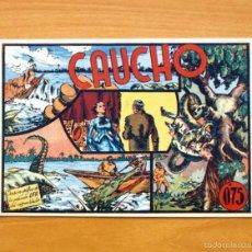 Tebeos: SELECCIÓN AVENTURERA - CAUCHO - EDITORIAL VALENCIANA 1940. Lote 56820221