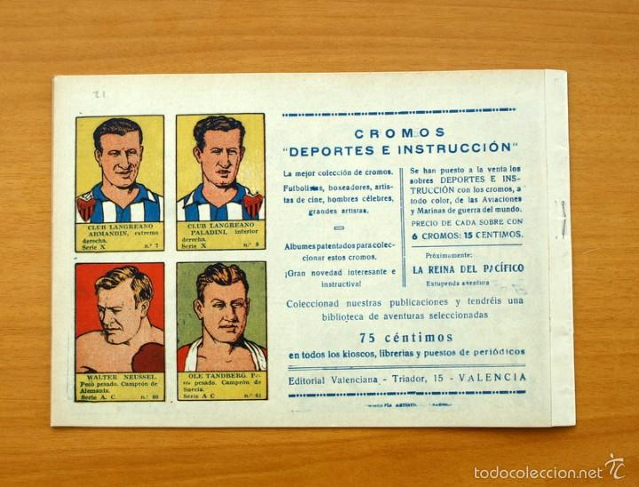 Tebeos: Selección aventurera - Caucho - Editorial Valenciana 1940 - Foto 3 - 56820221