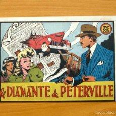 Tebeos: SELECCIÓN AVENTURERA - EL DIAMANTE DE PETERVILLE - EDITORIAL VALENCIANA 1940. Lote 56820243