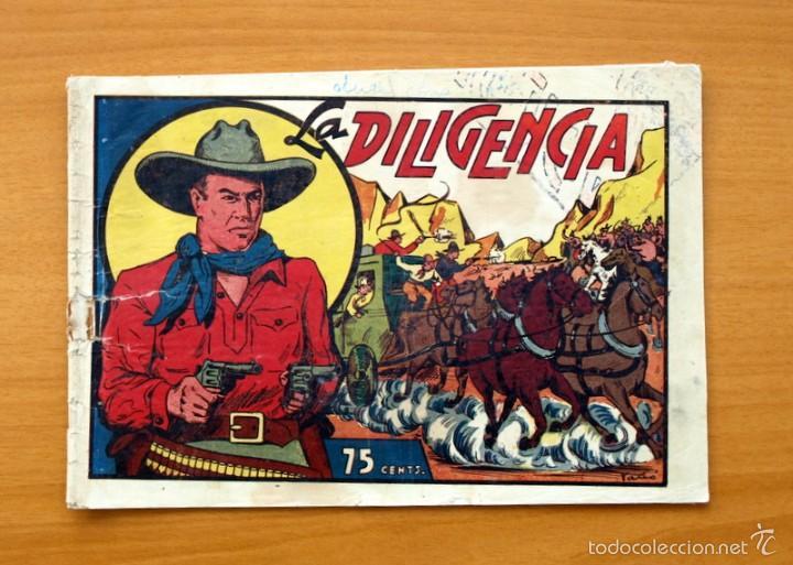 SELECCIÓN AVENTURERA - LA DILIGENCIA - EDITORIAL VALENCIANA 1940 (Tebeos y Comics - Valenciana - Selección Aventurera)
