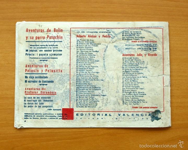 Tebeos: Selección aventurera - La diligencia - Editorial Valenciana 1940 - Foto 3 - 56820322