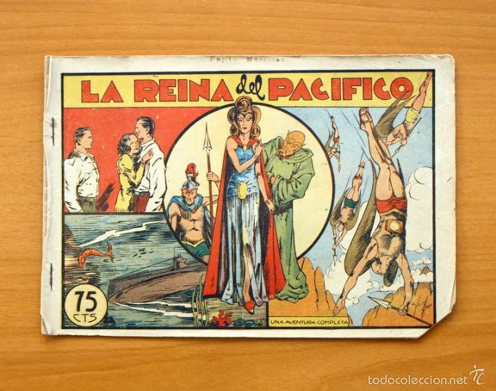 SELECCIÓN AVENTURERA - LA REINA DEL PACIFICO - EDITORIAL VALENCIANA 1940 (Tebeos y Comics - Valenciana - Selección Aventurera)