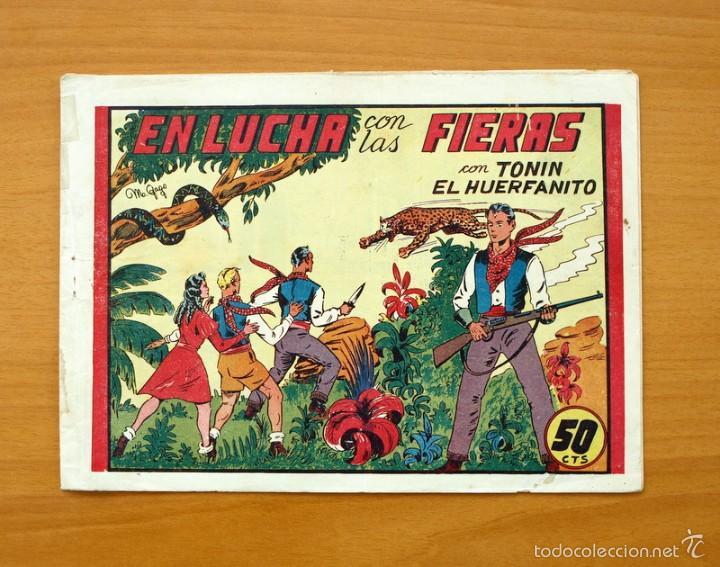 TONIN EL HUERFANITO (50 CENTIMOS) Nº 3 - EDITORIAL VALENCIANA 1944 (Tebeos y Comics - Valenciana - Otros)