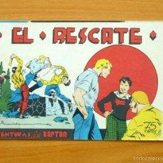 Tebeos: AVENTURAS DE BARTON Nº 3 EL RESCATE - EDITORIAL VALENCIANA 1944. Lote 56821301
