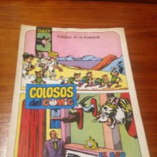 Tebeos: COLOSOS DEL COMIC SUPER 3 Nº 12 ULTIMO. EL OJO DEL JABALI. VALENCIANA 1984. CHIQUI DE LA FUENTE. Lote 56870612