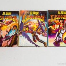 Tebeos: LOTE 3 ÁLBUM FLASH GORDON, NºS 6,7,8 ED. VALENCIANA 1979 ¡¡OFERTA!!. Lote 56879988