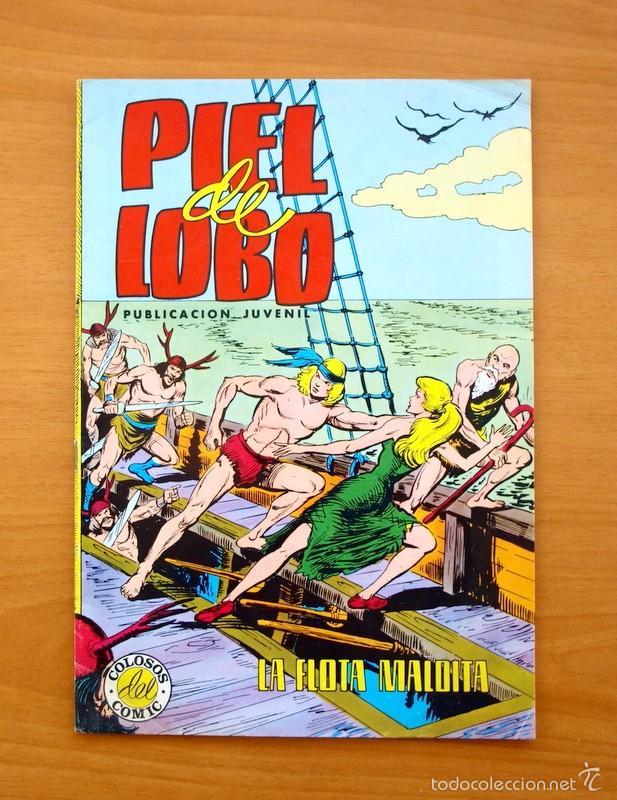 COLOSOS DEL COMIC -PIEL DE LOBO, Nº 20 - EDITORIAL VALENCIANA 1980 - ULTIMO DE LA COLECCIÓN (Tebeos y Comics - Valenciana - Otros)