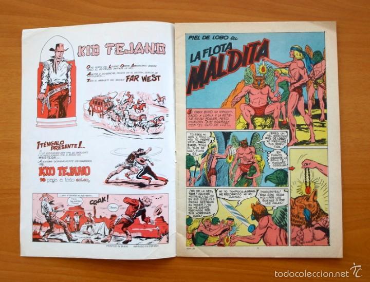 Tebeos: Colosos del Comic -Piel de lobo, nº 20 - Editorial Valenciana 1980 - Ultimo de la colección - Foto 2 - 56892167