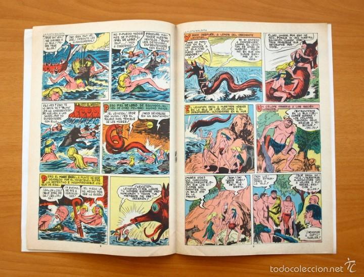 Tebeos: Colosos del Comic -Piel de lobo, nº 20 - Editorial Valenciana 1980 - Ultimo de la colección - Foto 3 - 56892167