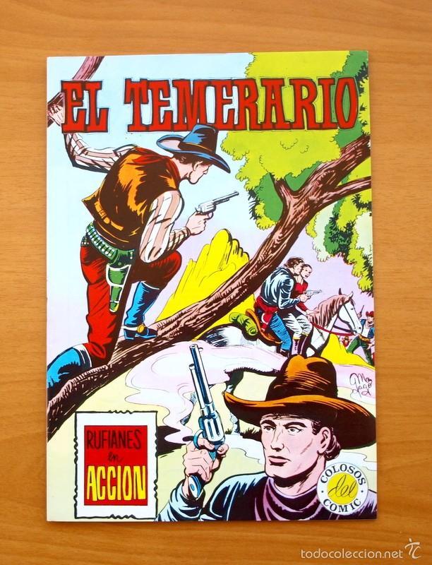 COLOSOS DEL COMIC -EL TEMERARIO, Nº 10 - EDITORIAL VALENCIANA 1981 - ULTIMO DE LA COLECCIÓN (Tebeos y Comics - Valenciana - Otros)