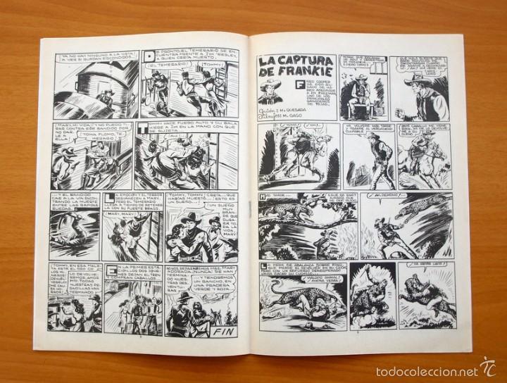 Tebeos: Colosos del Comic -El Temerario, nº 10 - Editorial Valenciana 1981 - Ultimo de la colección - Foto 3 - 56892240