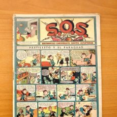 Tebeos: S.O.S. - SOS, Nº 18 - EDITORIAL VALENCIANA 1951. Lote 56940969