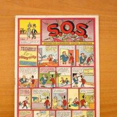 Tebeos: S.O.S. - SOS, Nº 30 - EDITORIAL VALENCIANA 1951. Lote 56941509