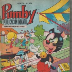 Tebeos: PUMBY Nº 614 -ED. EDITORIAL VALENCIANA. Lote 57101801