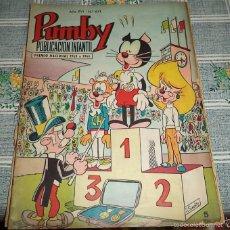 Tebeos: PUMBY AÑO XVI Nº 641 EDITORIAL VALENCIANA 1970 + REGALO EL 649. Lote 57116716