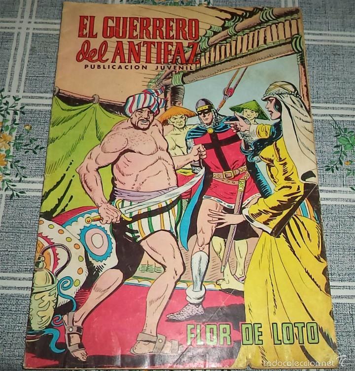 EL GUERRERO DEL ANTIFAZ N.º 255 FLOR DE LOTO ED. VALENCIANA 1977 (Tebeos y Comics - Valenciana - Guerrero del Antifaz)