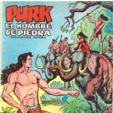 Tebeos: COMIC PURK EL HOMBRE DE PIEDRA, Nº 9 - EDITORIAL VALENCIANA. Lote 57269286