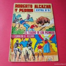 Giornalini: ROBERTO ALCAZAR Y PEDRÍN EXTRA Nº 8 - EDITORIAL VALENCIANA 1976 - 30 PTAS.. Lote 57290075