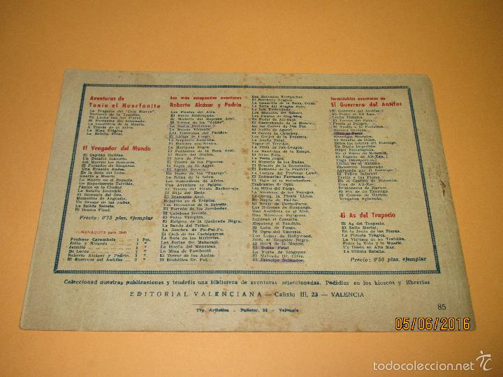 Tebeos: EL PRINCIPE SALTEADOR Nº 85 de *ROBERTO ALCAZAR Y PEDRÍN* 1ª Edición 1 Peseta - Año 1946 - Foto 2 - 57315236