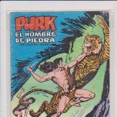 Tebeos: PURK - EL HOMBRE DE PIEDRA - Nº 39 - LUCHA TRAS LUCHA - EDITORIAL VALENCIANA 15 PTS.. Lote 57350504