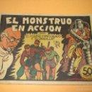 Tebeos: EL PEQUEÑO ENMASCARADO Y LA PANDILLA DE LOS SIETE 7 Nº 6 EDITORIAL VALENCIANA ORIGINAL - AÑO 1940S.. Lote 57353744