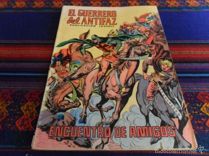Tebeos: GUERRERO DEL ANTIFAZ LAS MEJORES AVENTURAS COMPLETAS. VALENCIANA 1981. 100 PTS. REGALO Nº 130. - Foto 2 - 34351399