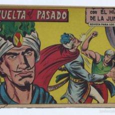 Tebeos: CÓMIC EL HIJO DE LA JUNGLA - Nº 85. VUELTA AL PASADO - ED VALENCIANA, AÑOS 50 - MEDIDAS 23,5 X 16 CM. Lote 57383190