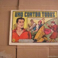 Tebeos: MILTON EL CORSARIO Nº 40, EDITORIAL VALENCIANA. Lote 57414585