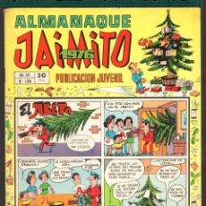 Tebeos: TEBEOS-COMICS CANDY - JAIMITO - ALMANAQUE - 1976 - ORIGINAL - *AA99. Lote 57418758