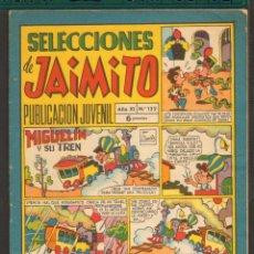 Tebeos: TEBEOS-COMICS CANDY - SELECCIONES DE JAIMITO - Nº 122 - 1968 - ORIGINAL - MUY RARO - *AA99. Lote 57418950