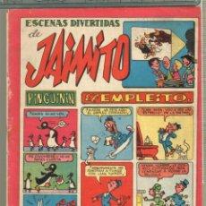 Tebeos: TEBEOS-COMICS CANDY - JAIMITO - Nº 137 - 1946 - ORIGINAL - MUY RARO - *AA99. Lote 57419039