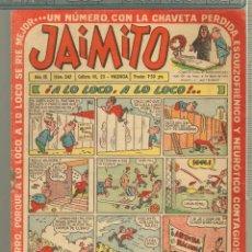 Tebeos: TEBEOS-COMICS CANDY - JAIMITO - Nº 247 - 1946 - ORIGINAL - MUY RARO - *AA99. Lote 57419149
