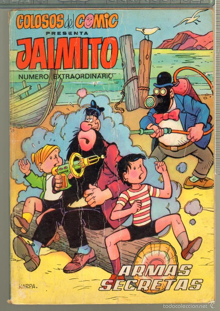 TEBEOS-COMICS CANDY - JAIMITO - Nº EXTRAORDINARIO - ARMAS SECRETAS - ORIGINAL - MUY RARO - *AA99 (Tebeos y Comics - Valenciana - Jaimito)