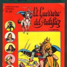 Tebeos: TEBEOS-COMICS CANDY - GUERRERO DEL ANTIFAZ - Nº 30 ULTIMO - AVENTURAS CORTAS - VALENCIANA - *AA99. Lote 57426987