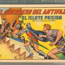 Tebeos: TEBEOS-COMICS CANDY - GUERRERO DEL ANTIFAZ - Nº 618 - VALENCIANA - 1943 - MATIAS ALONSO - *AA99. Lote 57428497
