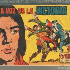 Tebeos: TEBEOS-COMICS CANDY - YUKI EL TEMERARIO - Nº 112 ULTIMO-VALENCIANA1959 -ORIGINAL RARO* OFERTA *AA99. Lote 57429531