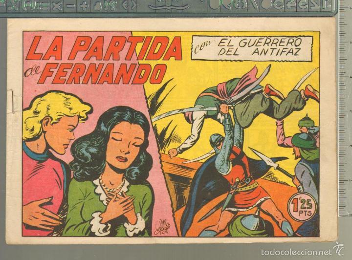 TEBEOS-COMICS CANDY - GUERRERO DEL ANTIFAZ - Nº 155 - VALENCIANA - 1943 - ORIGINAL *AA99 (Tebeos y Comics - Valenciana - Otros)