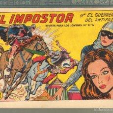 Tebeos: TEBEOS-COMICS CANDY - GUERRERO DEL ANTIFAZ - Nº 321 - VALENCIANA - 1943 - ORIGINAL *AA99. Lote 57439949