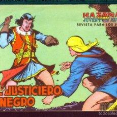 Tebeos: TEBEOS-COMICS CANDY - EL JUSTICIERO NEGRO - VALENCIANA 1965- COMPLETA - GUERRERO *XX99. Lote 57513021